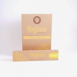 Betisoare parfumate rulate manual Sandalwood, Organic, lemn santal