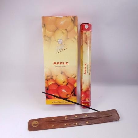Betisoare parfumateApple, măr, Flute, 20 bețe