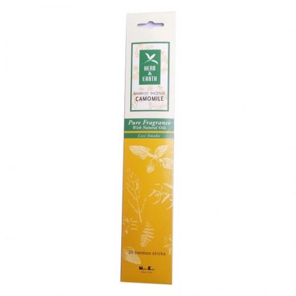 Betisoare parfumate Nippon Kodo Camomile, Herb and Earth