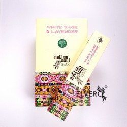 Betisoare parfumate White Sage and Lavender, Native Soul, Green Tree
