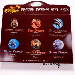 Set bețe parfumate Dragon Incense Gift Pack, Age of Dragons, colecția Anne Stokes