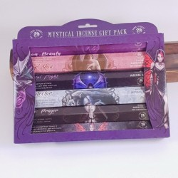 Set bete parfumate Mystical Incense Gift Pack, colecția Anne Stokes