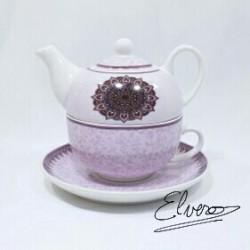 Savoare Lila, set pentru ceai