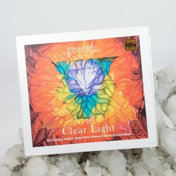 CD audio Clear Light, album terapie prin sunet cu boluri cântătoare pentru purificarea chakrelor
