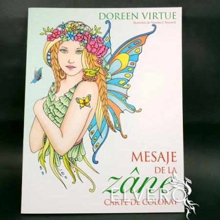 Mesaje de la zâne - Carte de colorat, Doreen Virtue