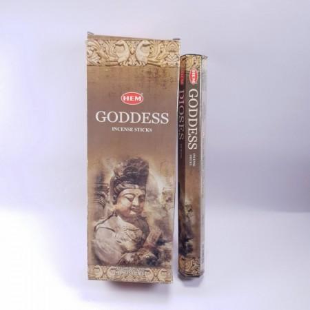 Bețișoare parfumate Godess, Zeița, Hem, 20 bețe