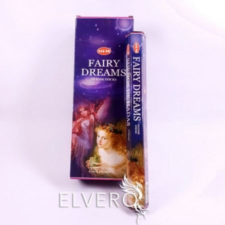 Bețișoare parfumate Fairy Dreams - Vise cu Zâne, HEM, 20 buc