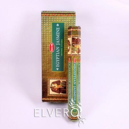 Bețișoare parfumate Iasomie Egipteană - Egyptian Jasmine, HEM, 20 buc