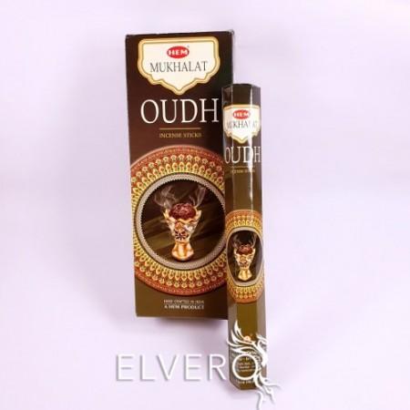 Bețișoare parfumate Mukhalat Oudh, HEM, 20 buc