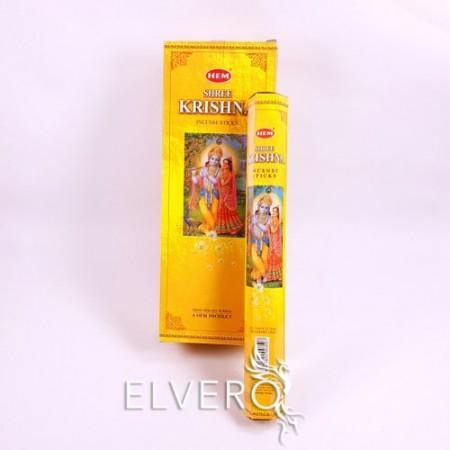 Bețișoare parfumate Shree Krishna, HEM, 20 buc