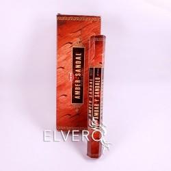 Bețișoare parfumate Amber Sandal, HEM, 20 buc
