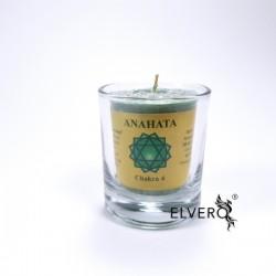 Lumanare uleiuri esențiale chakra Anahata, chakra inimii și iubirii, mică
