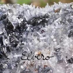 Esantion unicat de minerale, galena, cuart, pirita, calcopirita, calcit