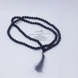 Male din agat negru - cod 604