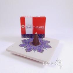 Conuri parfumate Nag Champa roșu
