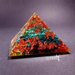 Piramida cu howlit si Floarea Vietii