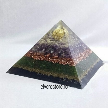 Piramida Florii Vietii - Piramida orgonica