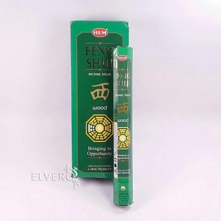 Bețișoare parfumate HEM Feng Shui Wood, 20 buc
