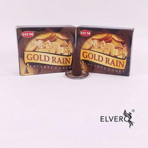 Conuri parfumate HEM Gold Rain