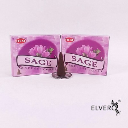 Conuri parfumate, Sage - Salvie, HEM