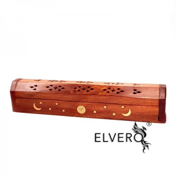 Suport din lemn pentru ars betisoare si conuri