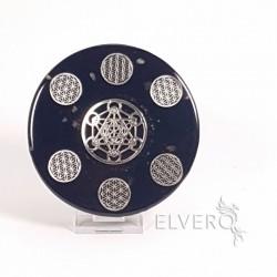 Disc orgonic floarea vieții și cubul lui Metatron